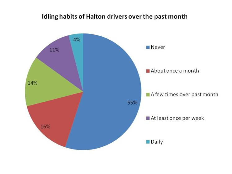 Idling Behaviour in Halton