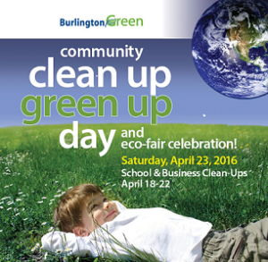 2016 Clean Up Day poster