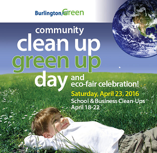 2016 Community Clean Up Green Up & Eco-Fair Celebration Poster