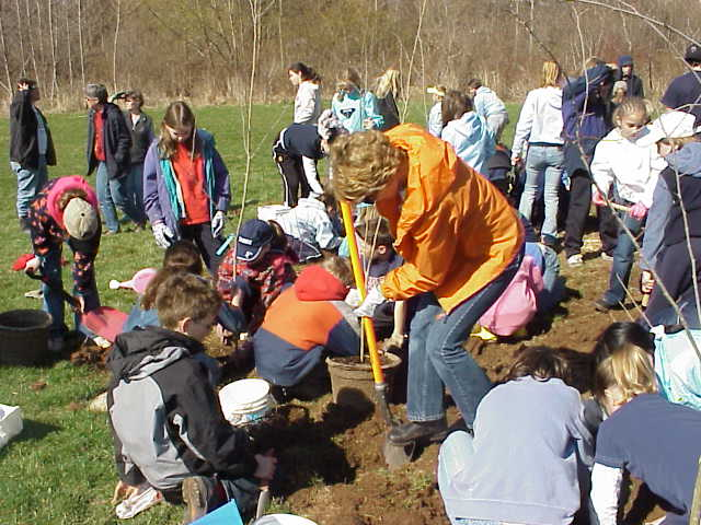 Arbor Day Tree Planting Event
