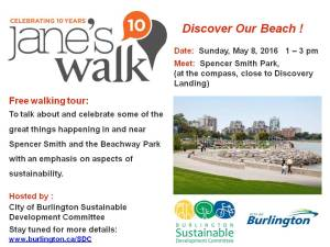 Sustainable Development's Jane's Walk