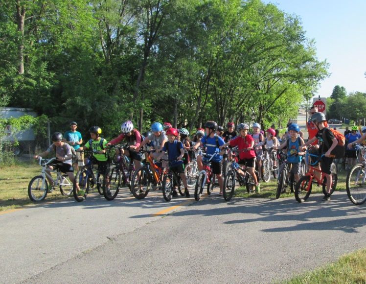 Bike to School Week