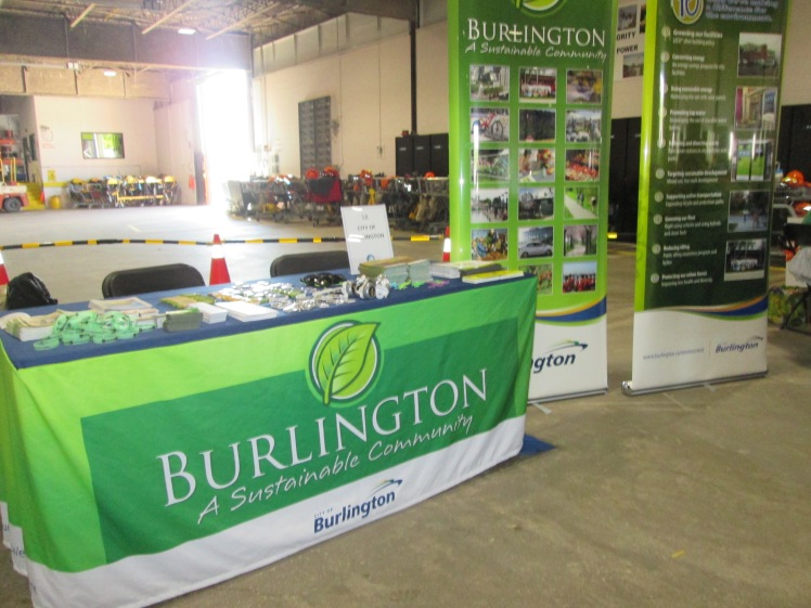 City of Burlington booth