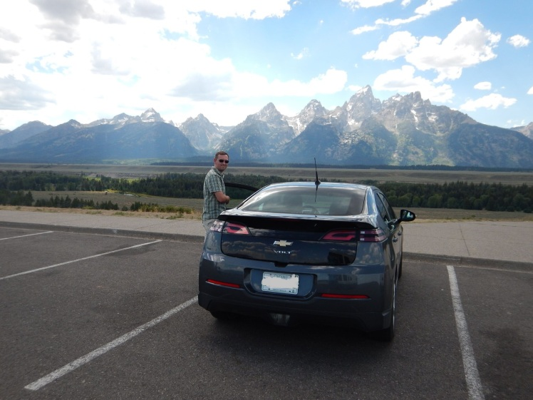 Travelling from Burlington to Vancouver in a PHEV.