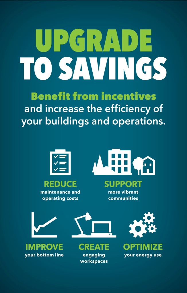 Energy savings promotion