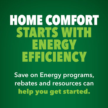 Energy saving promotion