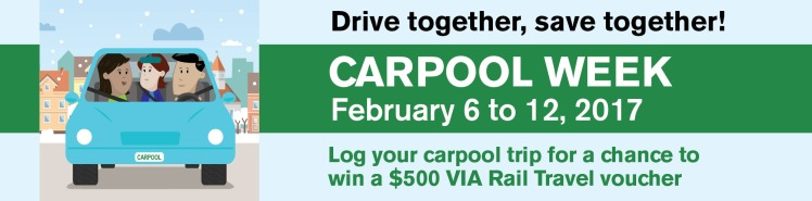 Carpool Week Banner