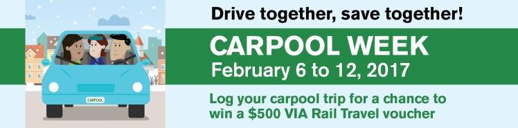 Carpool Week Banner