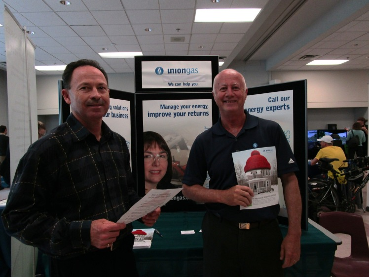Union Gas staff discussed how to manage your energy and improve your returns.