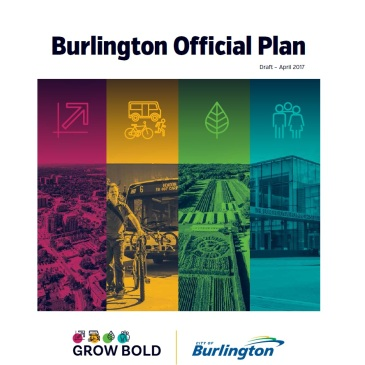 Burlington's New Draft Official Plan