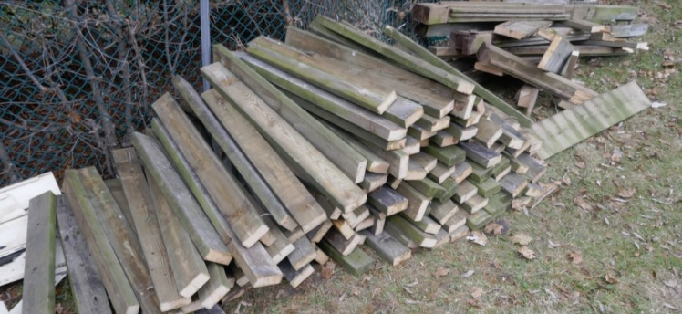 Wood available for reuse