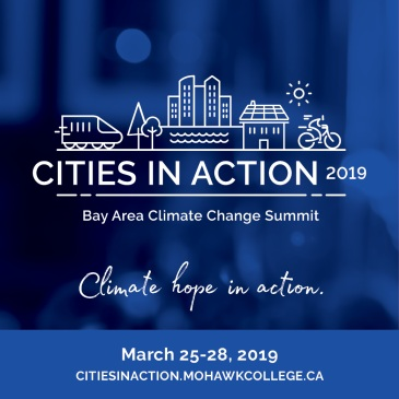 Cities in Action - Climate Change Summit promotional image