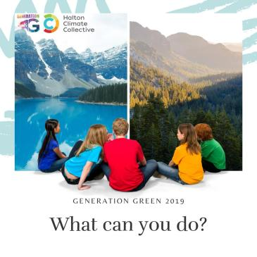 Generation Green 2019 promotion