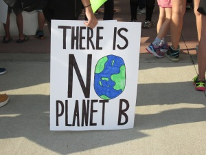 There is no planet B poster