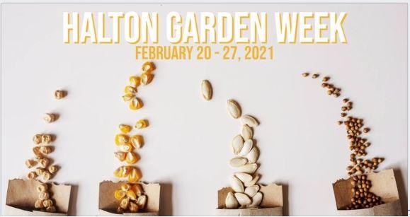 Promotional poster for Halton Garden Week
